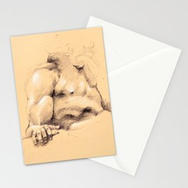 Fontana dei Quattro Fiumi (River God Study) Stationery Cards