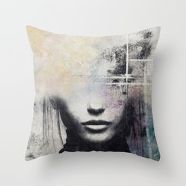 The concept of beauty... Throw Pillow