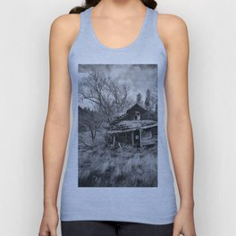Abandoned House in Oregon Unisex Tank Top