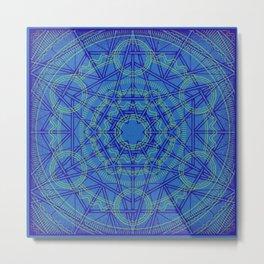 Geometraglyph IV Metal Print
