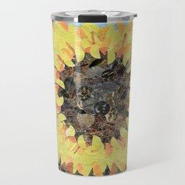 """""""Sunflower""""  Hole Punch Travel Mug"""
