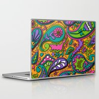 paisley Laptop & iPad Skins featuring Paisley by Shelly Bremmer