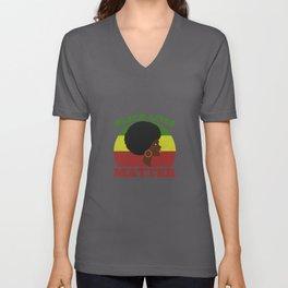 Black Lives Matter Women Unisex V-Neck
