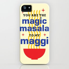 Magic Masala iPhone Case