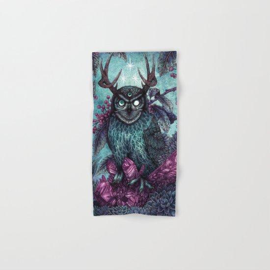 Night Owl Hand & Bath Towel