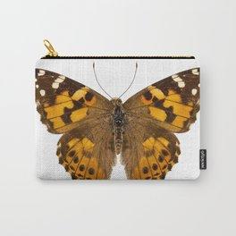 """Butterfly species Vanessa cardui """"Painted Lady"""" Carry-All Pouch"""