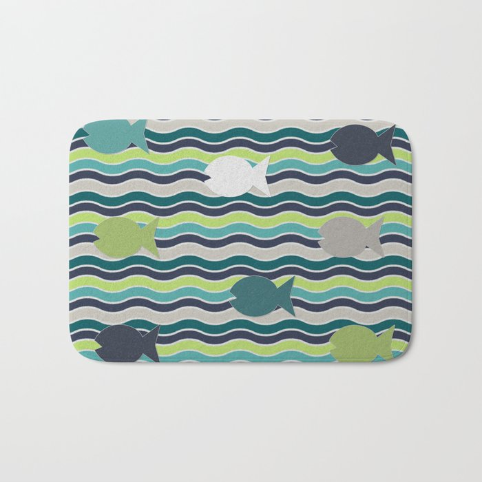 Under The Sea Bath Mat