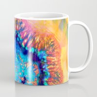 agate Mugs featuring Colorful agate by haroulita