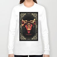 jay z Long Sleeve T-shirts featuring Jay-Z by Rafael Bosco