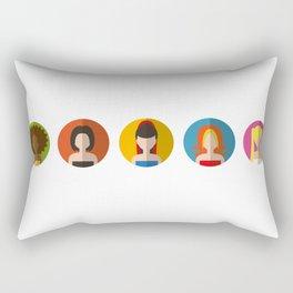 SPICE GIRLS ICONS Rectangular Pillow