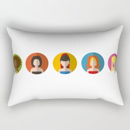 SPICE GIRLS ICONS Rectangular Pillow