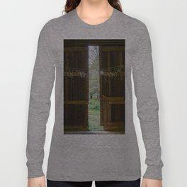 Through the barn door  Long Sleeve T-shirt