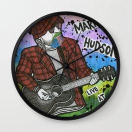 Mark Hudson Wall Clock