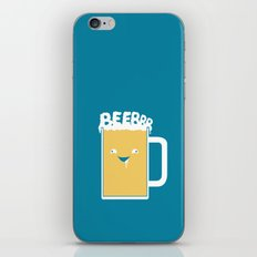 Beerrr iPhone & iPod Skin