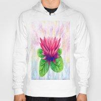 lotus flower Hoodies featuring Lotus by Lala