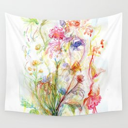 Floral Spree Wall Tapestry