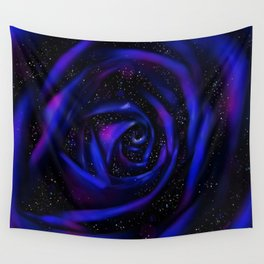 BLUE ROSE Wall Tapestry