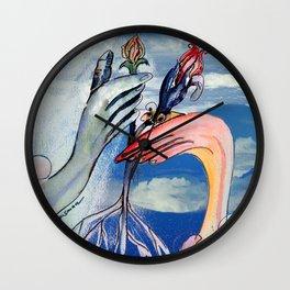 Manifest New Garden Wall Clock