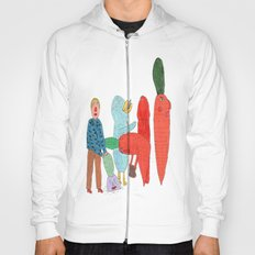 Friends and the garden. Hoody