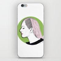 ellie goulding iPhone & iPod Skins featuring Ellie by Iiris Ella