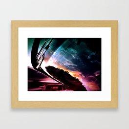 Inverted Horizon Framed Art Print