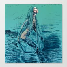Danaë's Immaculate Conception (Revised) Canvas Print