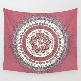 Mandala Paisley - Love Wall Tapestry