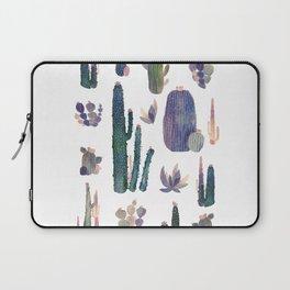 Watercolor Catus Laptop Sleeve