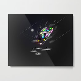 Bringer of Colour Metal Print