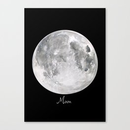 Moon #2 Canvas Print