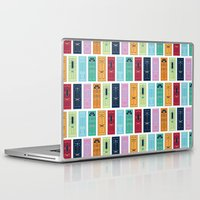 doors Laptop & iPad Skins featuring Doors by Luciana Brasil