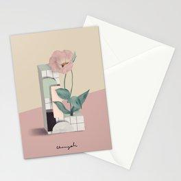 Vase L Lisianthus Stationery Cards