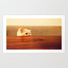 Soft and Warm Art Print