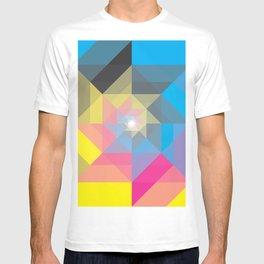 CMYK Triangles  T-shirt
