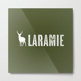 Deer: Laramie, Wyoming Metal Print