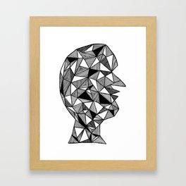 Dark Thoughts Framed Art Print
