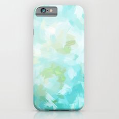BLOSSOMS - CYAN Slim Case iPhone 6s