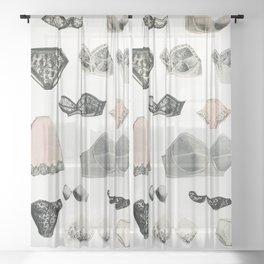 Lingerie Sheer Curtain