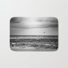 Stormy Beach Bath Mat