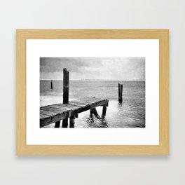 dock it Framed Art Print