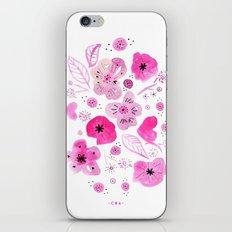 bloomy iPhone & iPod Skin