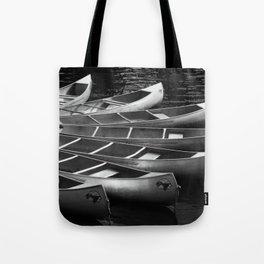 Moored Kayaks Tote Bag