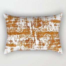 Bronze Abstract III Rectangular Pillow
