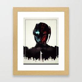 Ultron Evolution Framed Art Print