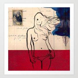 Venus not from Milo Art Print