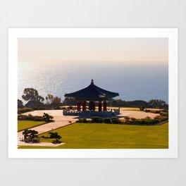 Korean Friendship Bell Art Print