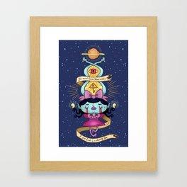 Proto Star Framed Art Print