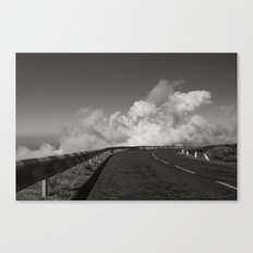 Kiss the clouds Canvas Print