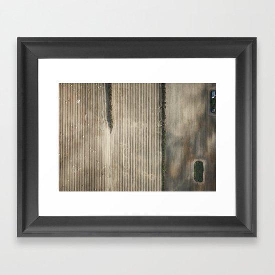 Farmland Framed Art Print