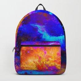 My Space - Galaxy - Universe - Manafold art Backpack